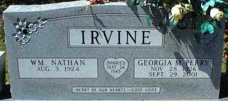 IRVINE, GEORGIA M. - Stone County, Arkansas | GEORGIA M. IRVINE - Arkansas Gravestone Photos
