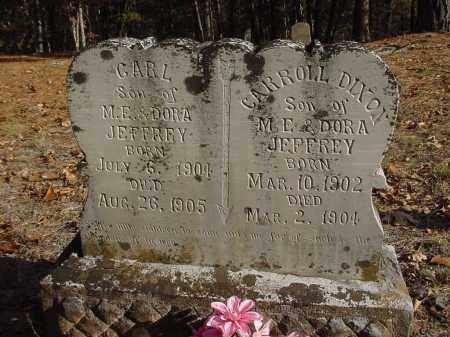 JEFFREY, CARL - Stone County, Arkansas | CARL JEFFREY - Arkansas Gravestone Photos