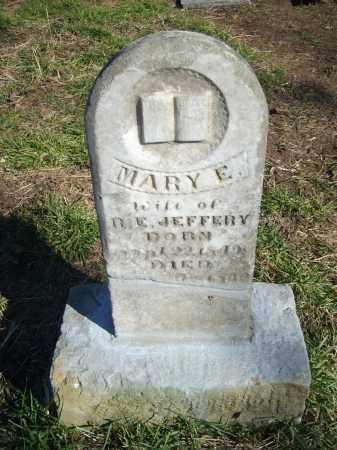 JEFFERY, MARY E - Stone County, Arkansas   MARY E JEFFERY - Arkansas Gravestone Photos