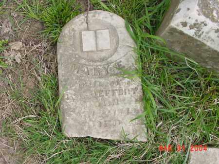 JEFFERY, MARY - Stone County, Arkansas | MARY JEFFERY - Arkansas Gravestone Photos