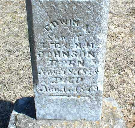 JOHNSON, EDWIN A. - Stone County, Arkansas | EDWIN A. JOHNSON - Arkansas Gravestone Photos
