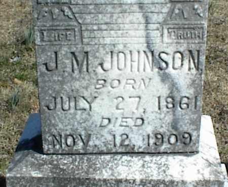 JOHNSON, J. M. - Stone County, Arkansas   J. M. JOHNSON - Arkansas Gravestone Photos