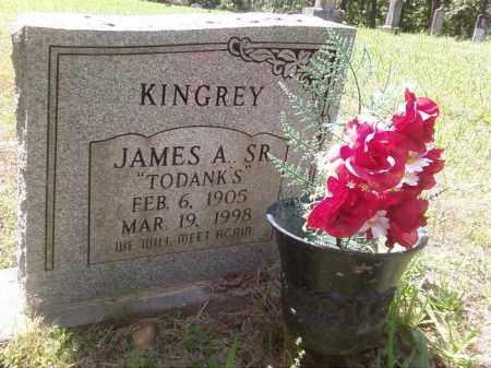 KINGREY SR, JAMES A. - Stone County, Arkansas | JAMES A. KINGREY SR - Arkansas Gravestone Photos
