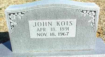 KOIS, JOHN - Stone County, Arkansas | JOHN KOIS - Arkansas Gravestone Photos