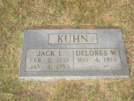 KUHN, JACK L. - Stone County, Arkansas   JACK L. KUHN - Arkansas Gravestone Photos