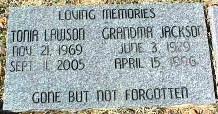 LAWSON, TONIA - Stone County, Arkansas | TONIA LAWSON - Arkansas Gravestone Photos