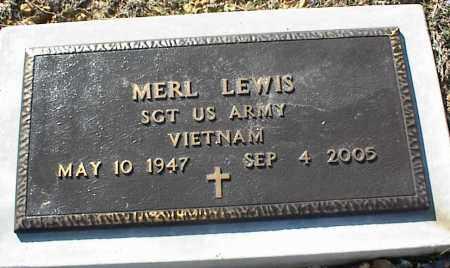LEWIS (VETERAN VIET), MERL - Stone County, Arkansas | MERL LEWIS (VETERAN VIET) - Arkansas Gravestone Photos