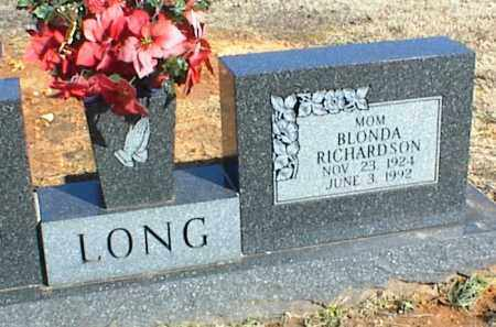 LONG, BLONDA - Stone County, Arkansas | BLONDA LONG - Arkansas Gravestone Photos
