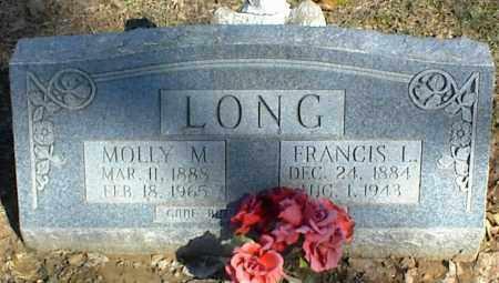LONG, MOLLY M. - Stone County, Arkansas | MOLLY M. LONG - Arkansas Gravestone Photos