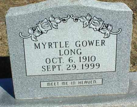 GOWER LONG, MYRTLE - Stone County, Arkansas | MYRTLE GOWER LONG - Arkansas Gravestone Photos