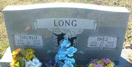 LONG, INEZ - Stone County, Arkansas   INEZ LONG - Arkansas Gravestone Photos