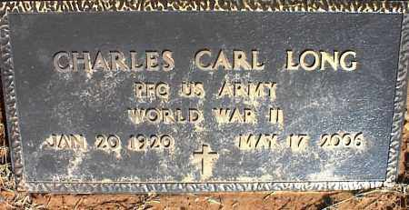 LONG (VETERAN WWII), CHARLES CARL - Stone County, Arkansas   CHARLES CARL LONG (VETERAN WWII) - Arkansas Gravestone Photos