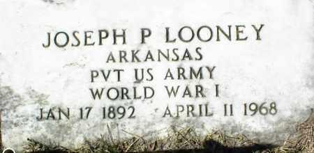 LOONEY  (VETERAN WWI), JOSEPH P - Stone County, Arkansas | JOSEPH P LOONEY  (VETERAN WWI) - Arkansas Gravestone Photos