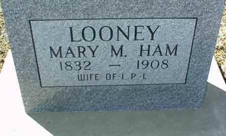 HAM LOONEY, MARY M. - Stone County, Arkansas | MARY M. HAM LOONEY - Arkansas Gravestone Photos