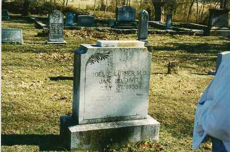 LUTHER DR, JOEL - Stone County, Arkansas   JOEL LUTHER DR - Arkansas Gravestone Photos
