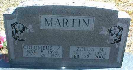 MARTIN, ZELDA M. - Stone County, Arkansas | ZELDA M. MARTIN - Arkansas Gravestone Photos