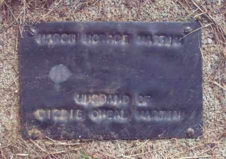 MARTIN, MARSH HORACE - Stone County, Arkansas   MARSH HORACE MARTIN - Arkansas Gravestone Photos