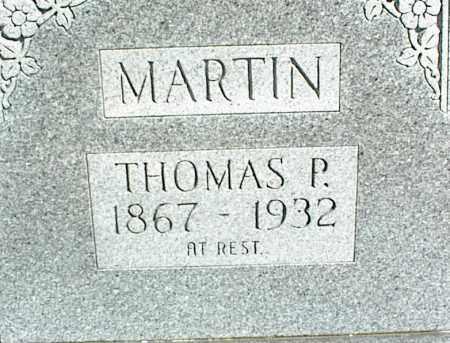 MARTIN, THOMAS P. - Stone County, Arkansas   THOMAS P. MARTIN - Arkansas Gravestone Photos