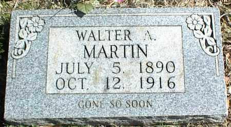 MARTIN, WALTER A. - Stone County, Arkansas | WALTER A. MARTIN - Arkansas Gravestone Photos