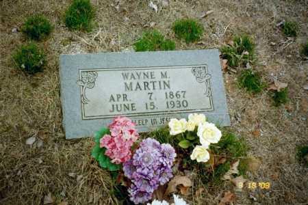 MARTIN, WAYNE - Stone County, Arkansas | WAYNE MARTIN - Arkansas Gravestone Photos