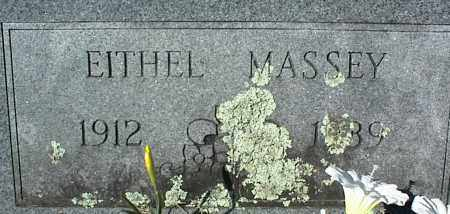 MASSEY, EITHEL - Stone County, Arkansas | EITHEL MASSEY - Arkansas Gravestone Photos