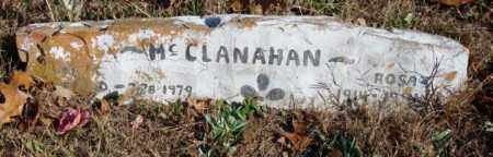 MCCLANAHAN, ROSE - Stone County, Arkansas | ROSE MCCLANAHAN - Arkansas Gravestone Photos