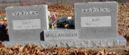 JONES MCCLANAHAN, MARY - Stone County, Arkansas | MARY JONES MCCLANAHAN - Arkansas Gravestone Photos