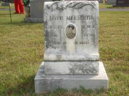 MEREDITH, LOYD - Stone County, Arkansas | LOYD MEREDITH - Arkansas Gravestone Photos