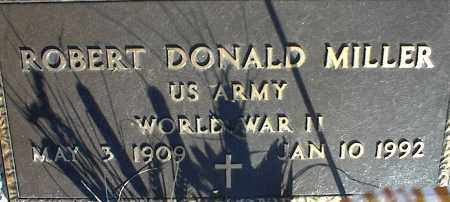 MILLER (VETERAN WWII), ROBERT DONALD - Stone County, Arkansas | ROBERT DONALD MILLER (VETERAN WWII) - Arkansas Gravestone Photos
