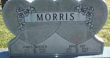 MORRIS, JAMES RISNER - Stone County, Arkansas | JAMES RISNER MORRIS - Arkansas Gravestone Photos
