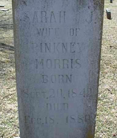 MORRIS, SARAH J. - Stone County, Arkansas   SARAH J. MORRIS - Arkansas Gravestone Photos