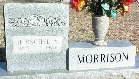 MORRISON, HERSCHEL A. - Stone County, Arkansas   HERSCHEL A. MORRISON - Arkansas Gravestone Photos