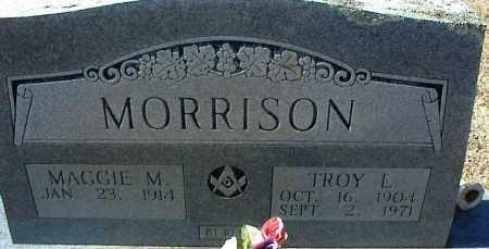 MORRISON, TROY L. - Stone County, Arkansas   TROY L. MORRISON - Arkansas Gravestone Photos