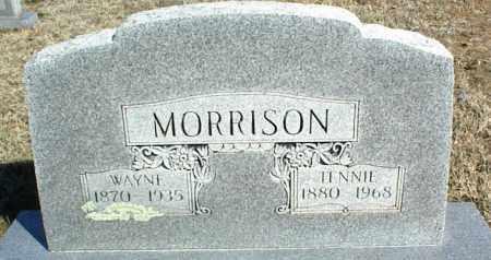 "MORRISON, TENNESSEE J ""TENNIE"" - Stone County, Arkansas | TENNESSEE J ""TENNIE"" MORRISON - Arkansas Gravestone Photos"