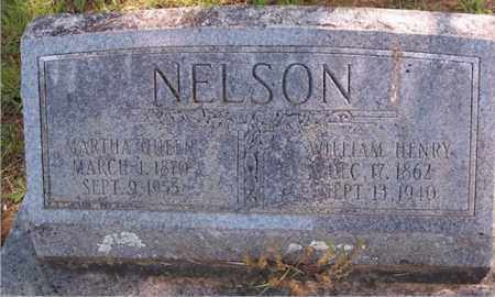 WINSTEN NELSON, MARTHA QUEEN - Stone County, Arkansas | MARTHA QUEEN WINSTEN NELSON - Arkansas Gravestone Photos