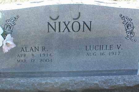 NIXON, ALAN R. - Stone County, Arkansas | ALAN R. NIXON - Arkansas Gravestone Photos