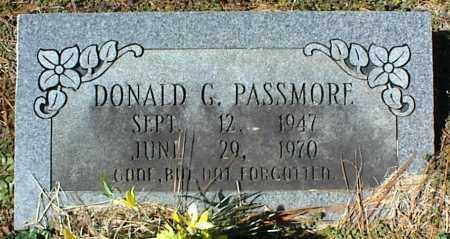 PASSMORE, DONALD G. - Stone County, Arkansas | DONALD G. PASSMORE - Arkansas Gravestone Photos