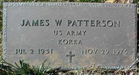 PATTERSON (VETERAN KOR), JAMES W - Stone County, Arkansas | JAMES W PATTERSON (VETERAN KOR) - Arkansas Gravestone Photos