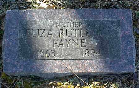 PAYNE, ELIZA - Stone County, Arkansas | ELIZA PAYNE - Arkansas Gravestone Photos