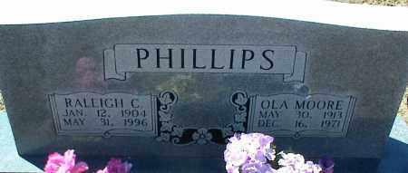 PHILLIPS, OLA - Stone County, Arkansas | OLA PHILLIPS - Arkansas Gravestone Photos