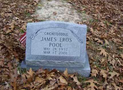 POOL, JAMES EROS - Stone County, Arkansas | JAMES EROS POOL - Arkansas Gravestone Photos