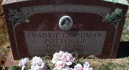 POTTEIGER POTTEIGER, FRANKIE - Stone County, Arkansas | FRANKIE POTTEIGER POTTEIGER - Arkansas Gravestone Photos