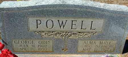 POWELL, GEORGE ODIS - Stone County, Arkansas | GEORGE ODIS POWELL - Arkansas Gravestone Photos