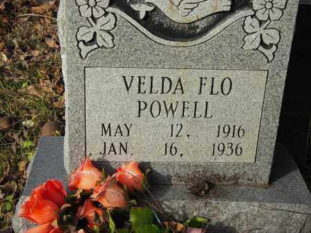 POWELL, VELDA FLO - Stone County, Arkansas | VELDA FLO POWELL - Arkansas Gravestone Photos