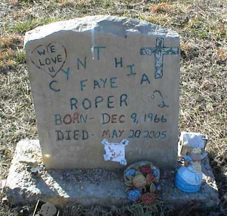 ROPER, CYNTHIA FAYE - Stone County, Arkansas | CYNTHIA FAYE ROPER - Arkansas Gravestone Photos