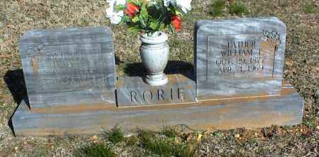RORIE, LULA - Stone County, Arkansas | LULA RORIE - Arkansas Gravestone Photos