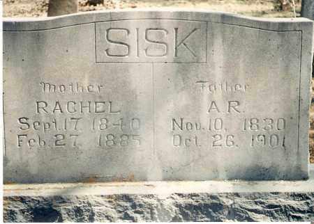 SISK, A RANKIN - Stone County, Arkansas | A RANKIN SISK - Arkansas Gravestone Photos