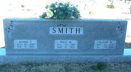 SMITH, DOSIA T. - Stone County, Arkansas | DOSIA T. SMITH - Arkansas Gravestone Photos