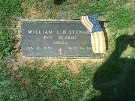STEWART  (VETERAN KOR), WILLIAM L. D. - Stone County, Arkansas | WILLIAM L. D. STEWART  (VETERAN KOR) - Arkansas Gravestone Photos