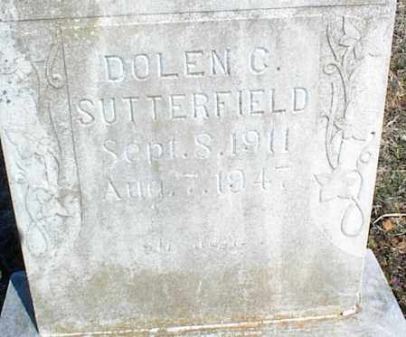 SUTTERFIELD, DOLEN C. - Stone County, Arkansas | DOLEN C. SUTTERFIELD - Arkansas Gravestone Photos
